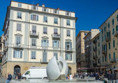 Le square Garibaldi
